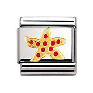 Authentic Nomination Link - Starfish - Enamel