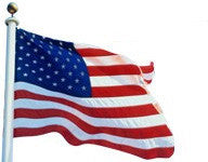 Annin US Flag - Tough-Tex 2-Ply Polyester American Flag