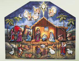 Byers' Choice Advent Calendar - Nativity