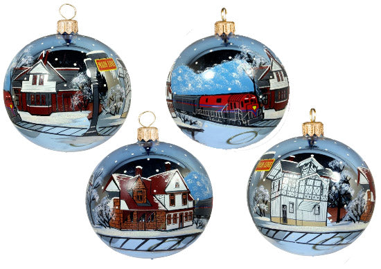 Main Line Train Stations Ornament - Our Exclusive! Save 60%!