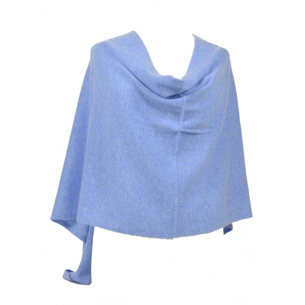 Claudia Nichole Cashmere Dress Topper - Sky