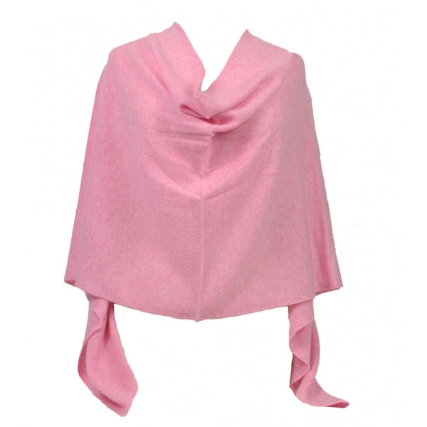 Claudia Nichole Cashmere Dress Topper - Pink Ice