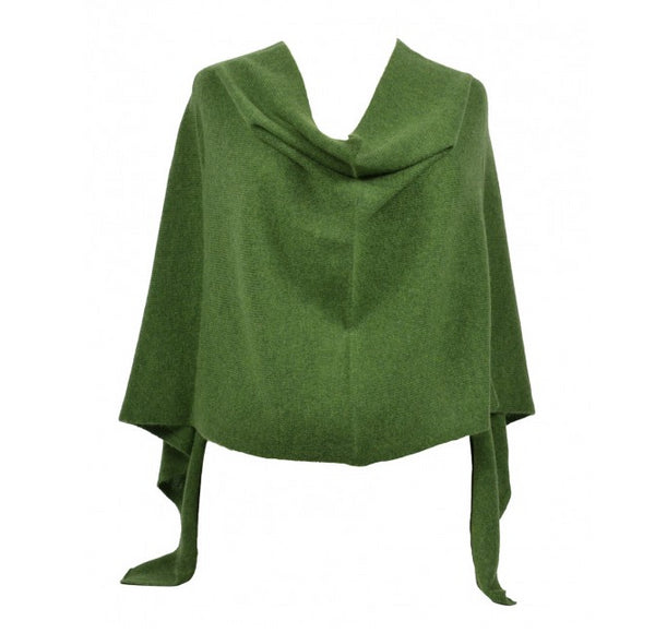Claudia Nichole Cashmere Dress Topper - Basil