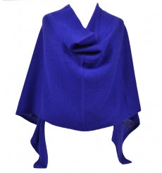 Claudia Nichole Cashmere Dress Topper - Cobalt