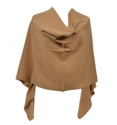Claudia Nichole Cashmere Dress Topper - Camel