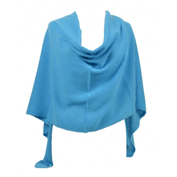 Claudia Nichole 4-in-1 Cashmere Dress Topper - Turquoise