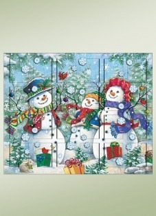 Byers' Choice Advent Calendar - Snowman