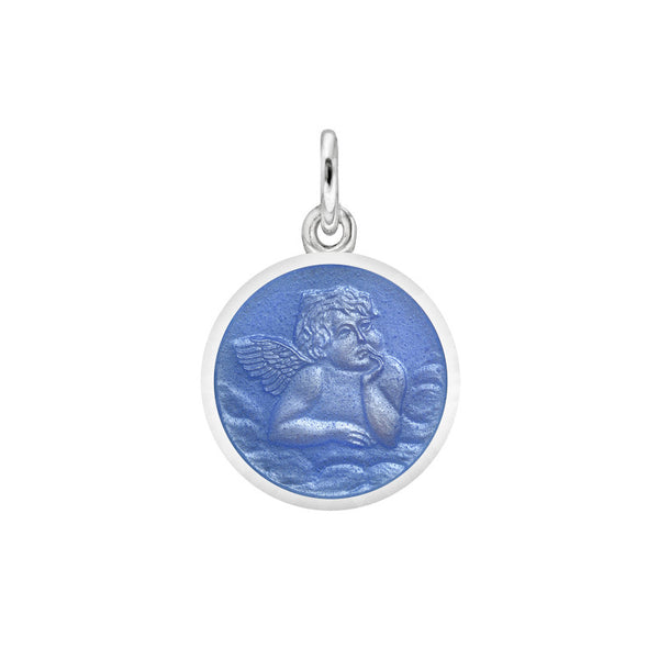 Enameled Angel Medals - New Design - 2 Sizes!