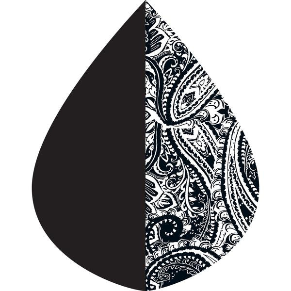 RainCaper Black & B&W Paisley - NEW!