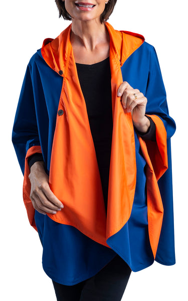 SpiritCaper Blue & Orange