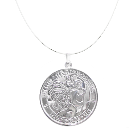St Christopher Medals - Sterling Silver - NEW!