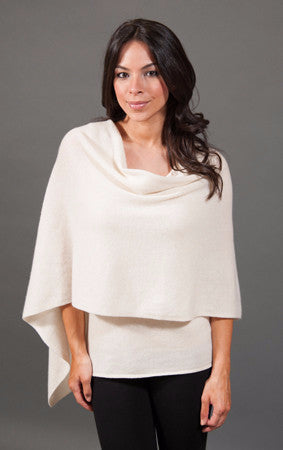 Claudia Nichole Cashmere Dress Topper - Dune