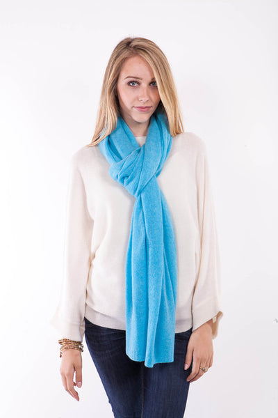 Cashmere Travel Wrap - Snow