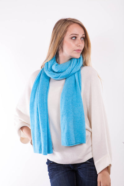 Cashmere Travel Wrap - Rum Raisin