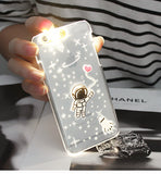 Space Astronaut LED Iphone case