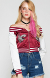 Street Wear Embroidery Jacket