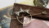 Arrow and Stars Hair Stick