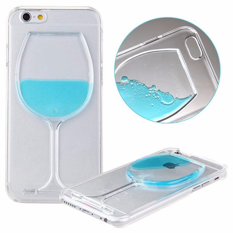 Iphone wine case Blue