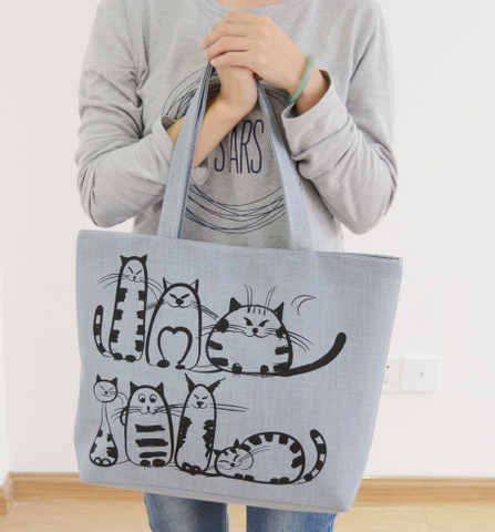 Funny Cats Tote
