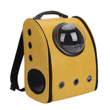 Astronaut Cat Backpack - Yellow