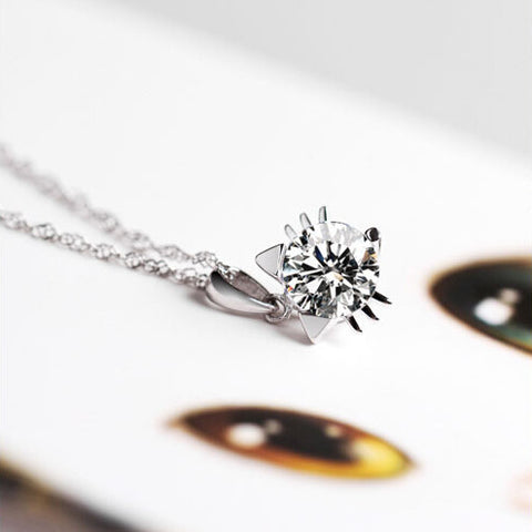 925 sterling silver cat shape