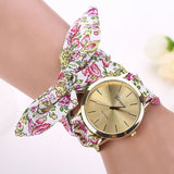 Floral Strap Quartz Watch