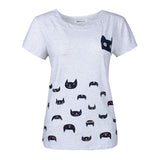 Cat tees Short Sleeve