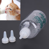 120ml Portable Baby Cat Nursing Bottle