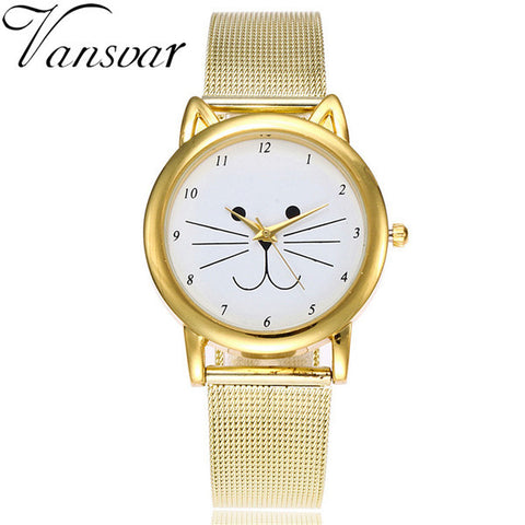 Cat Watch mesh band