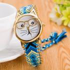 Cat with glasses Watch