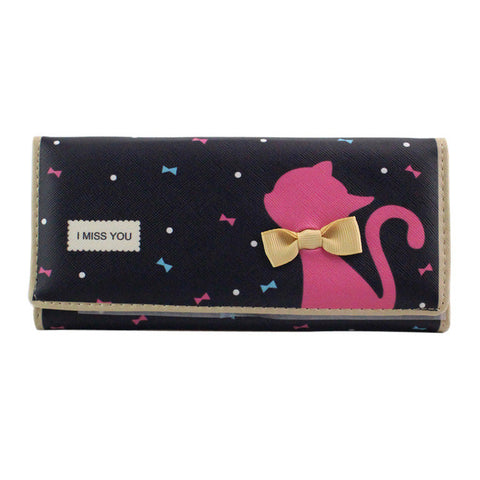 Cat Bow wallet
