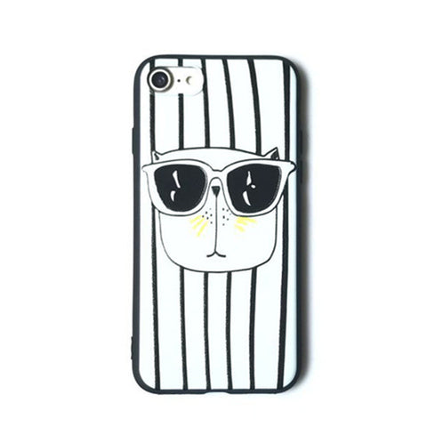 Stripped phone case