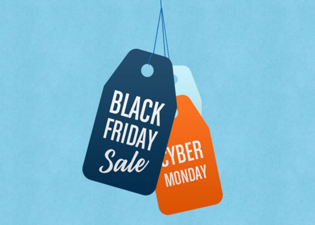 Black Friday, Small Business Saturday, and Cyber Monday!