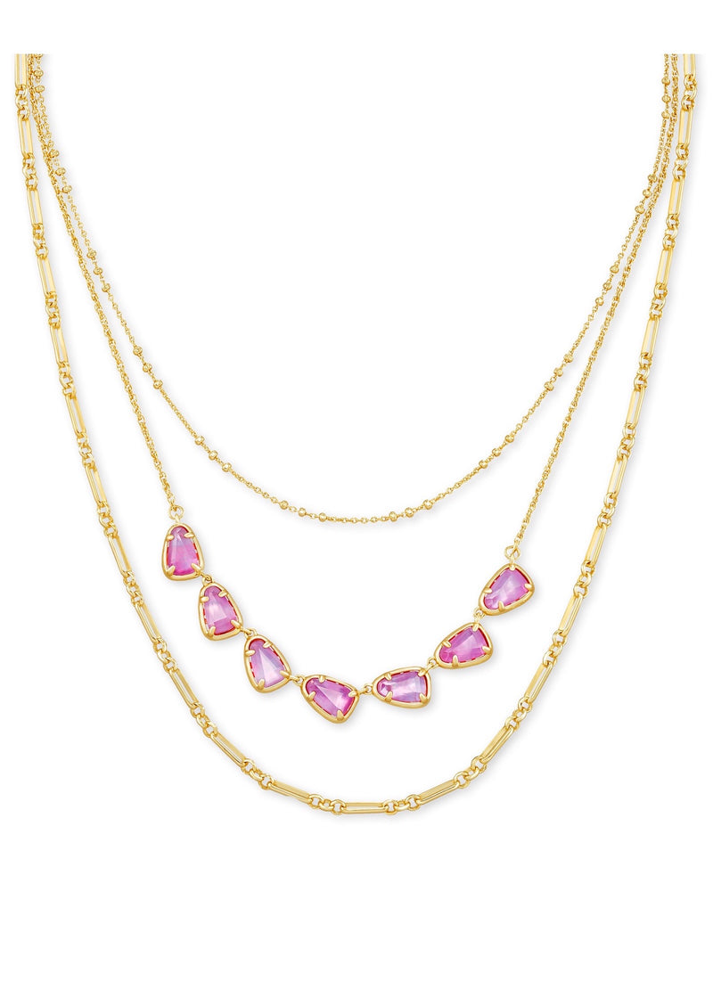 Susanna Triple Strand Necklace