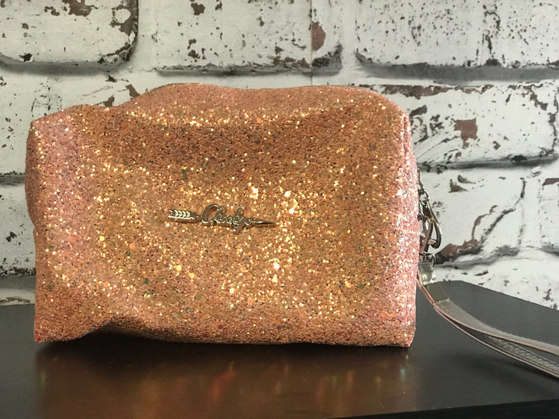 Cheeky's Glitter Makeup Bag