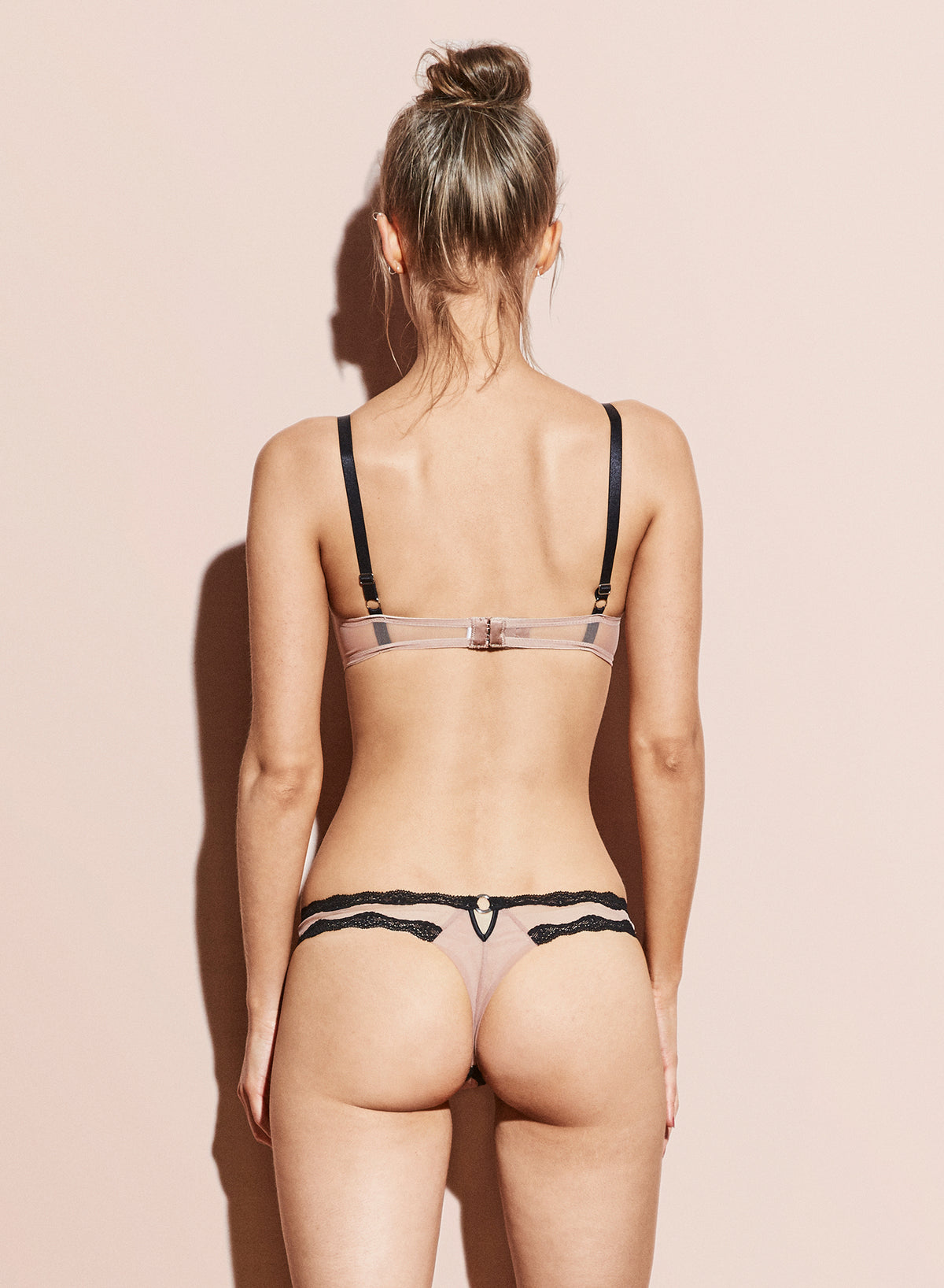 Sheer Tulle Thong