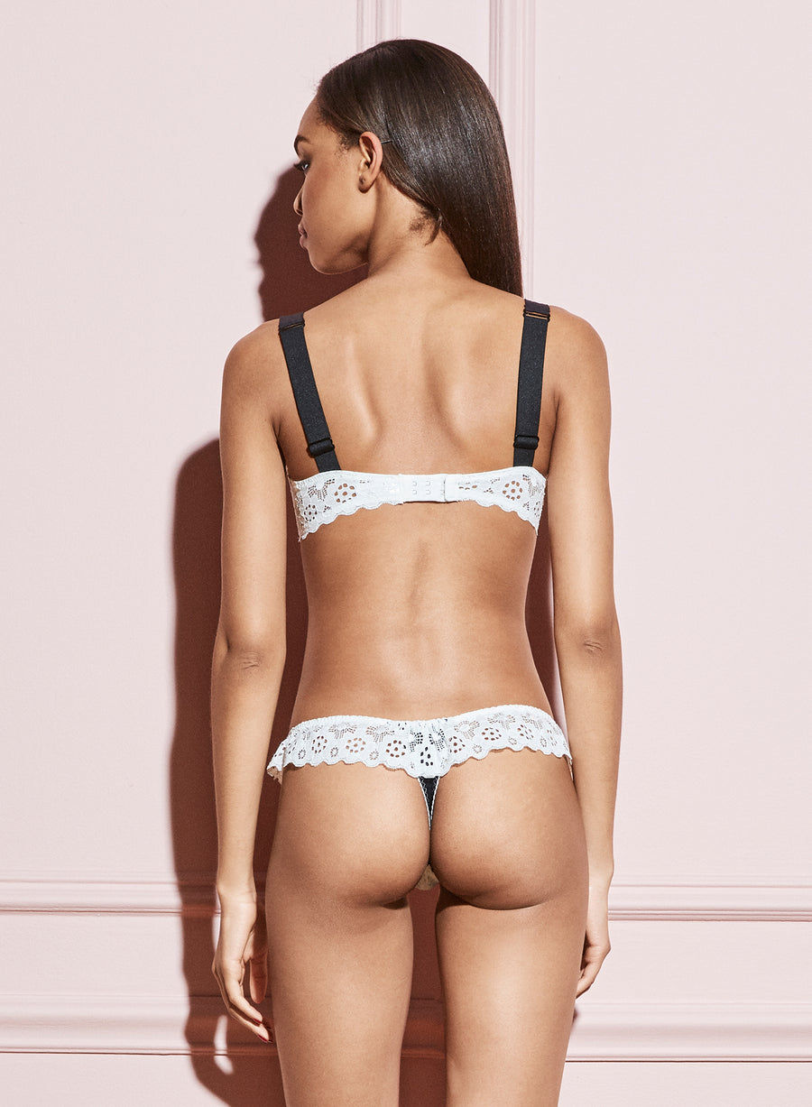 Crochet Lace Thong