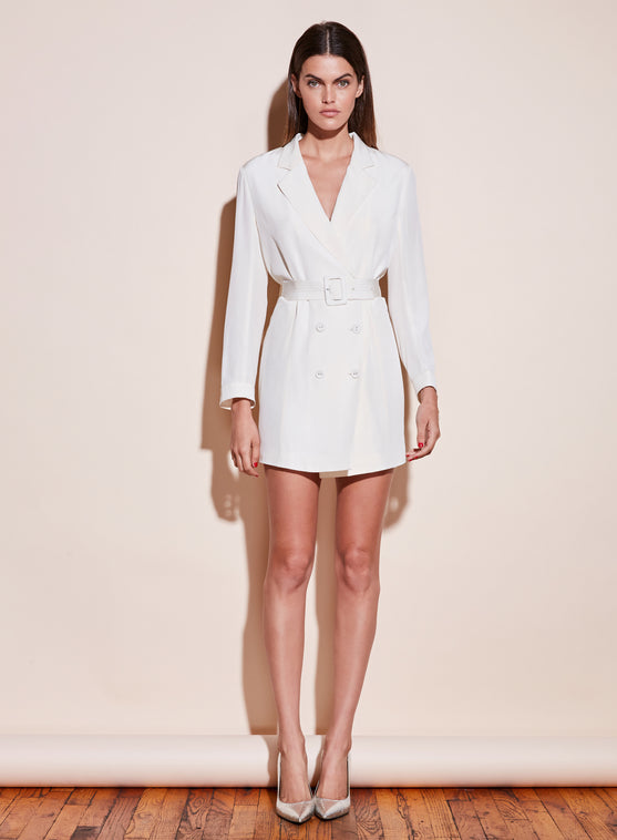 Belted Blazer Dress