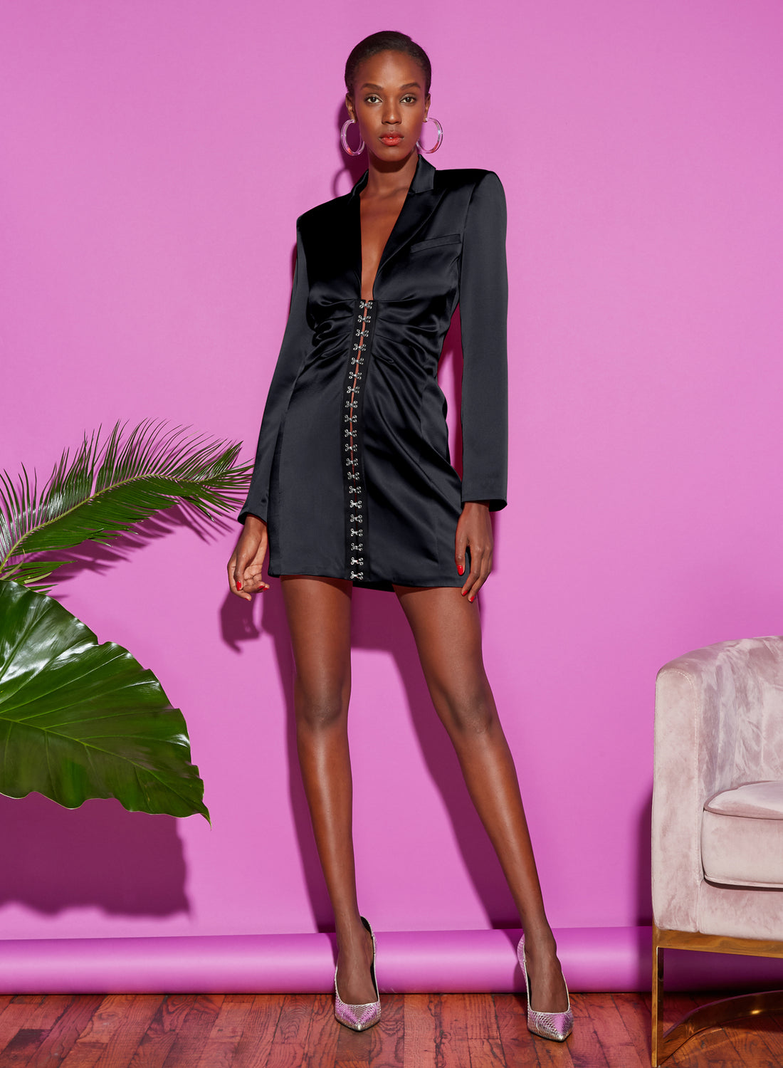 Hook & Eye Blazer Dress