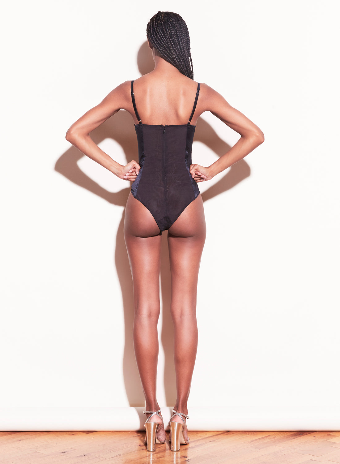 James Lace Cupped Bodysuit