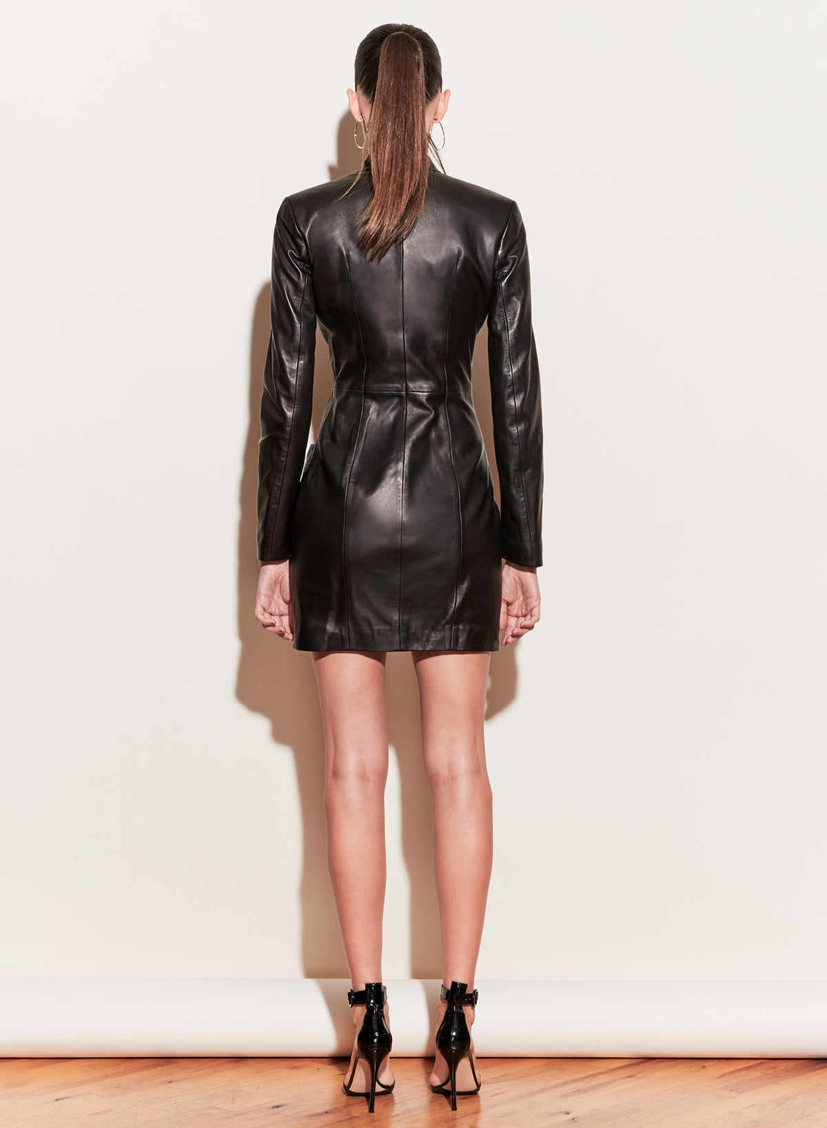 Leather Power Dress