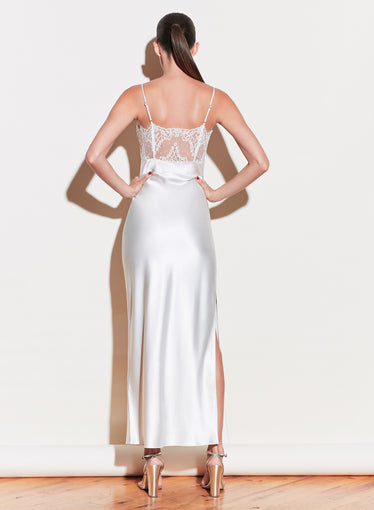 Daphne Lace Insert Gown