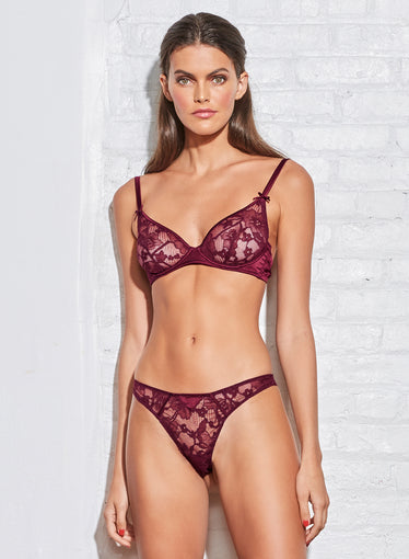 Magnolia Lace Unlined Demi Bra
