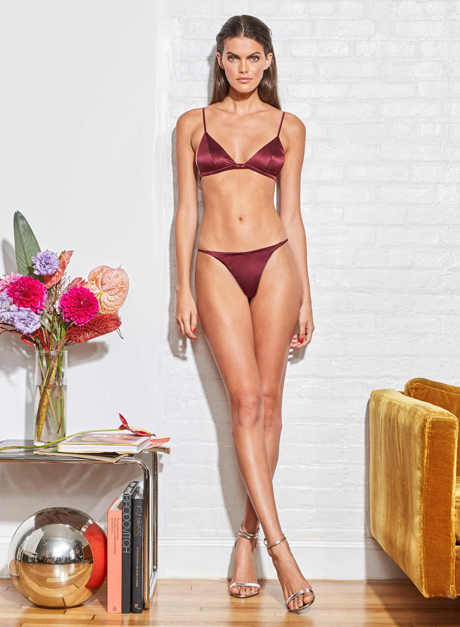 Luxe Triangle Bra