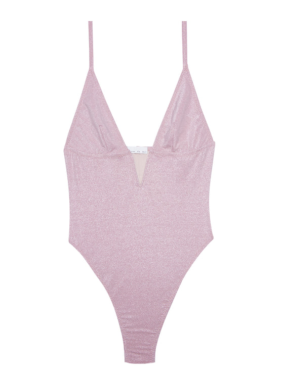One Piece V Wire Swimsuit