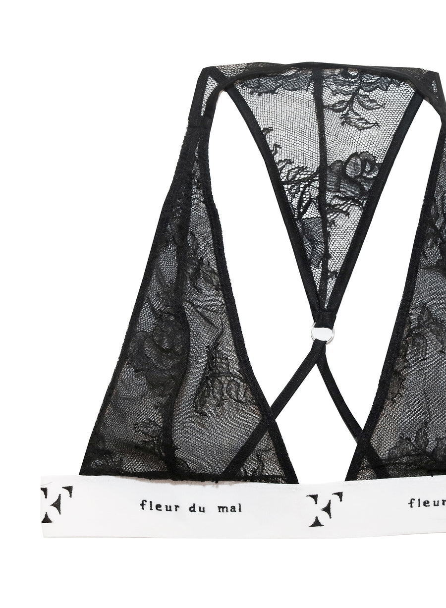 Lace Garcon Triangle Bra