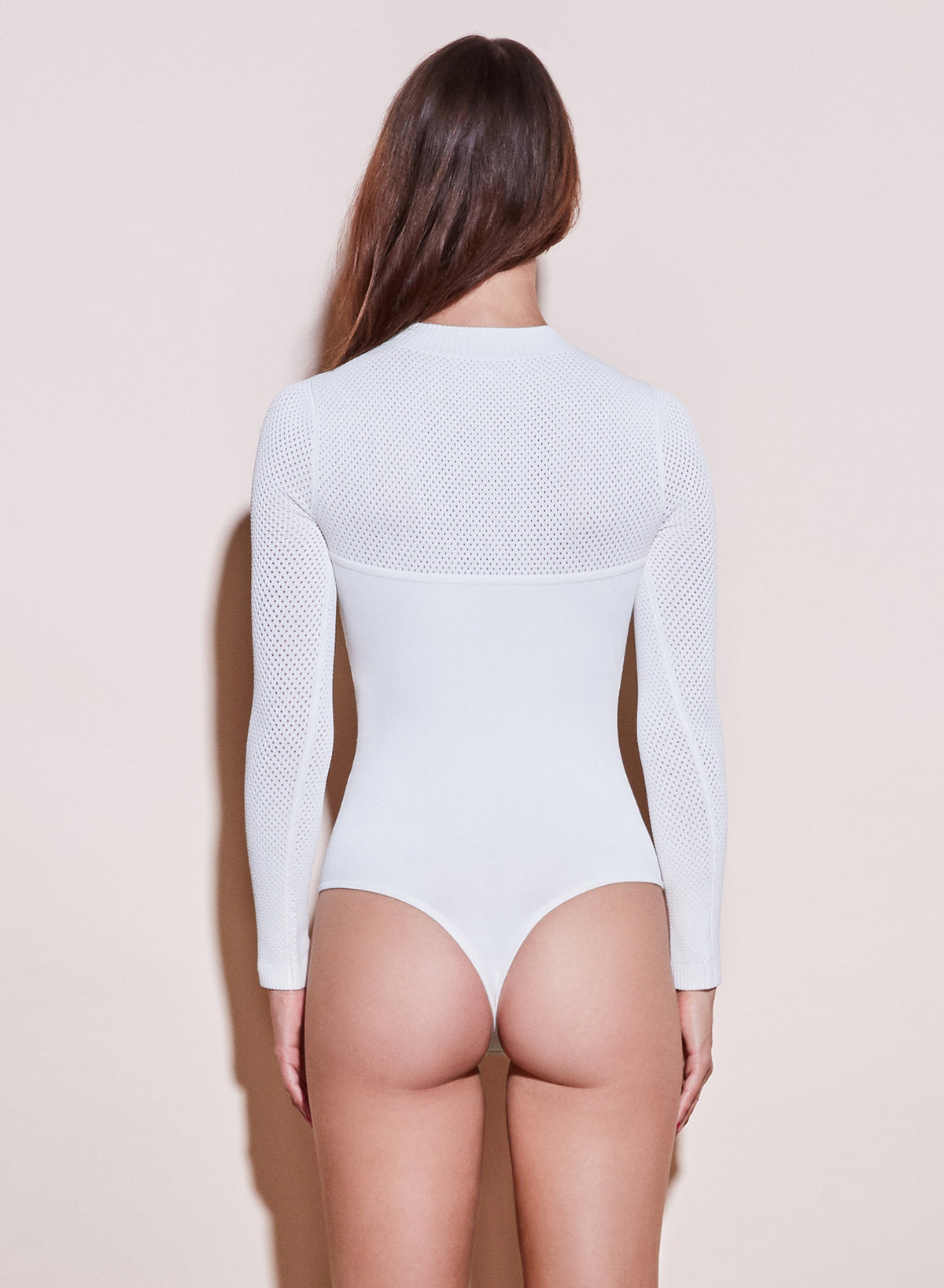 Pointelle Knit Bodysuit