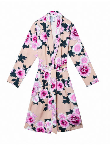 Fleur du Mal x The Coveteur Long Sleeve Robe