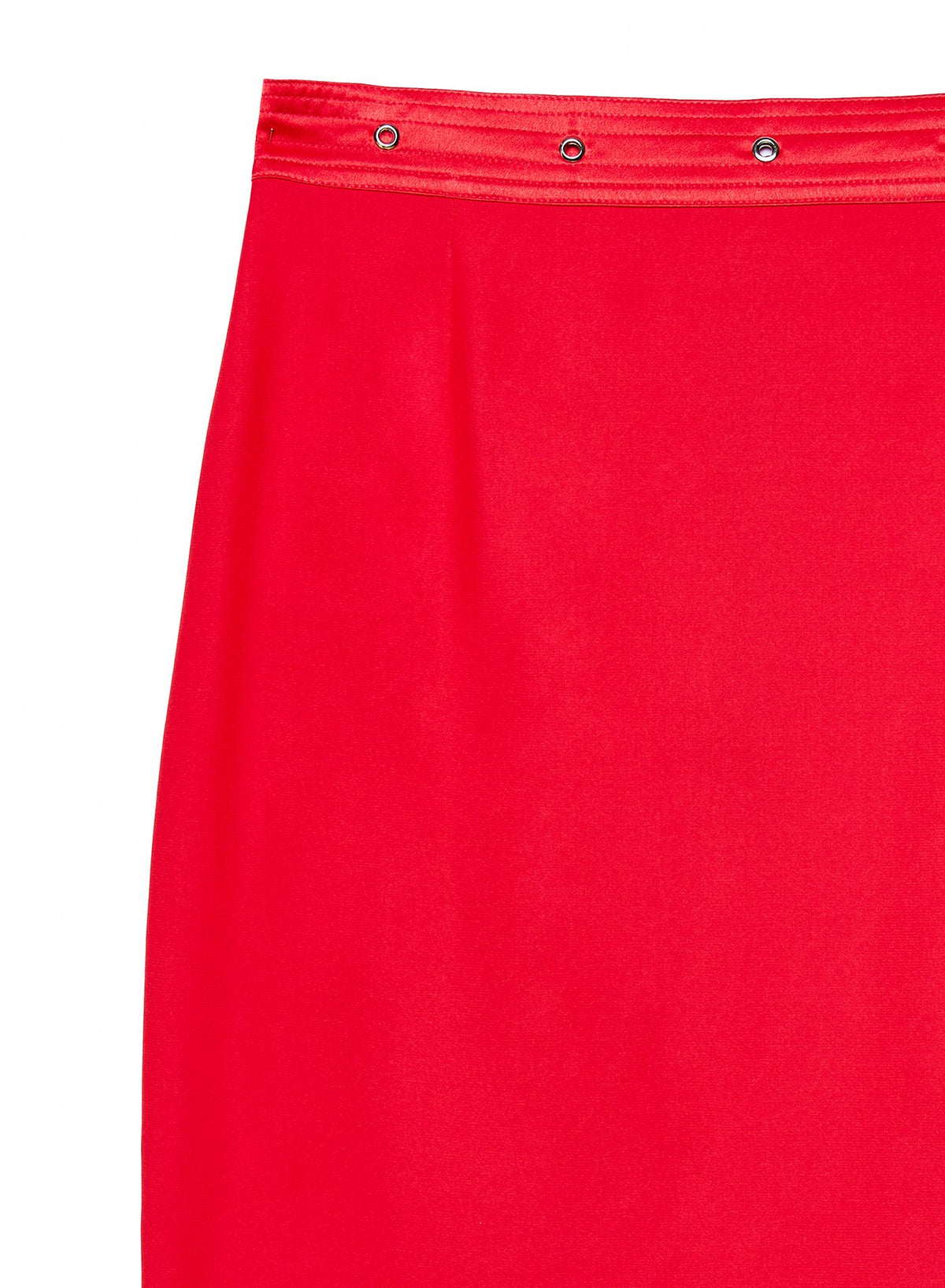 Grommet Pencil Skirt
