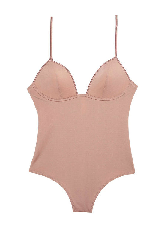Cupped Nonwire Bodysuit